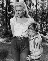 RIVER OF NO RETURN, Marilyn Monroe, Tommy Rettig, 1954. TM and Copyright © 20th Century Fox Film Corp. All rights reserved..