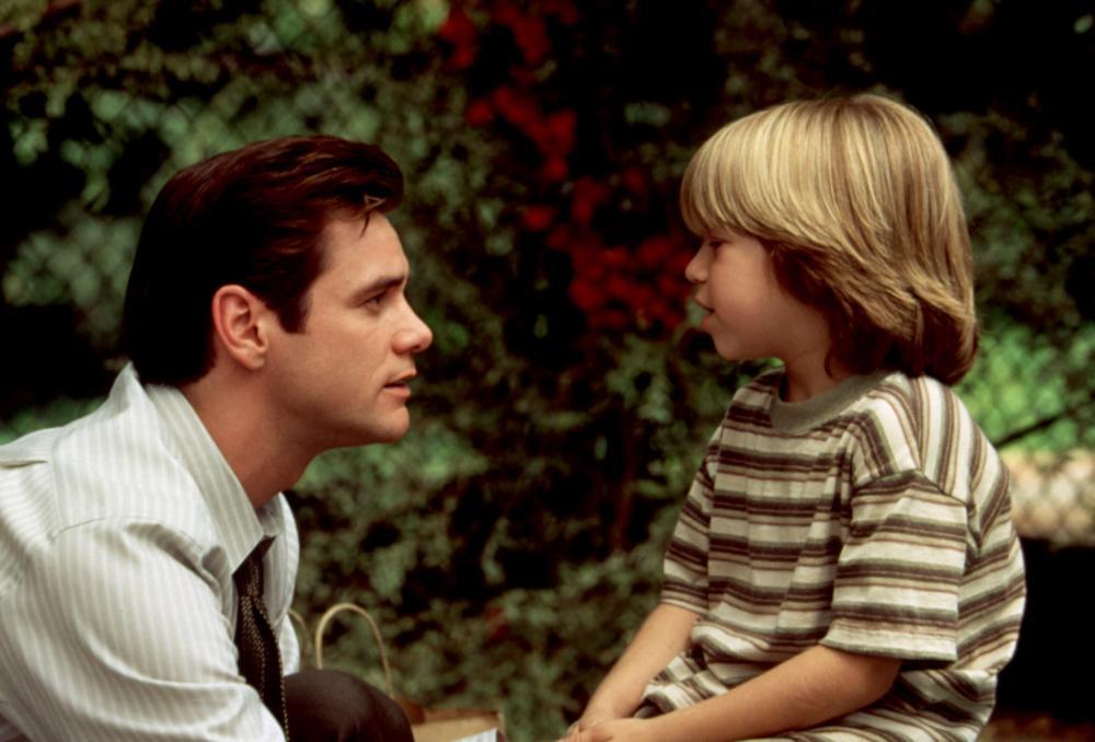 LIAR LIAR, Jim Carrey, Justin Cooper, 1997