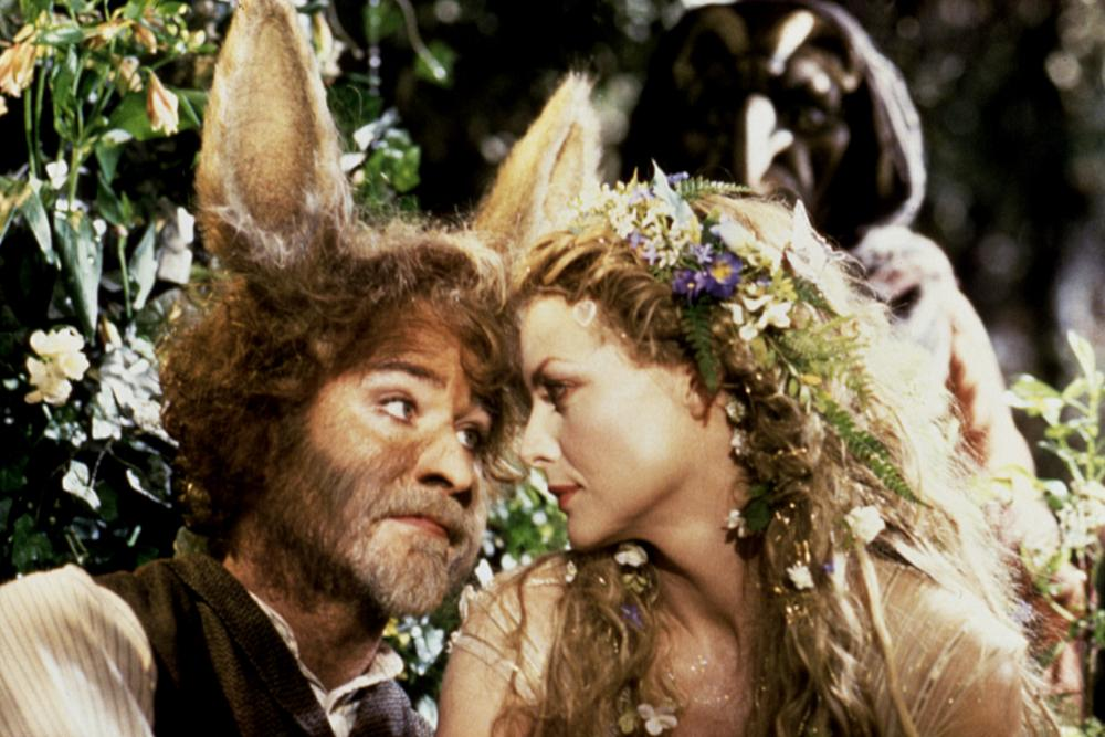A MIDSUMMER NIGHT'S DREAM, Kevin Kline, Michelle Pfeiffer, 1999, TM and Copyright © 20th Century Fox Film Corp. All rights reserved..