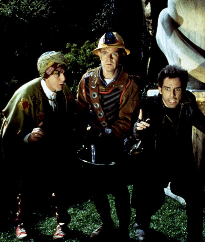MYSTERY MEN, Hank Azaria, William H. Macy, Ben Stiller, 1999