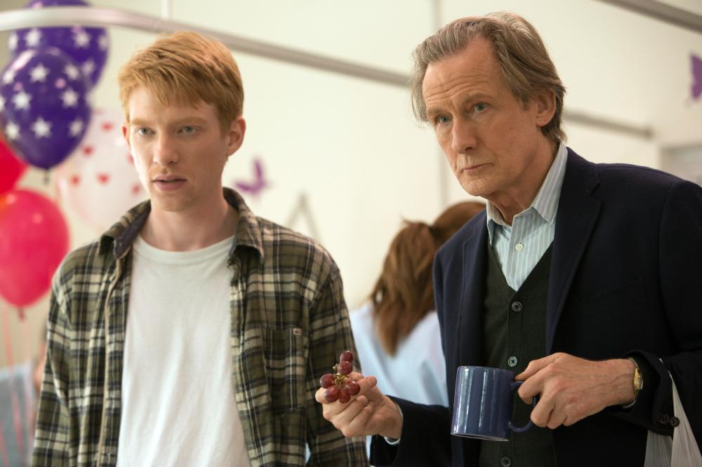 ABOUT TIME, from left: Domhnall Gleeson, Bill Nighy, 2013. ph: Murray Close/©Universal