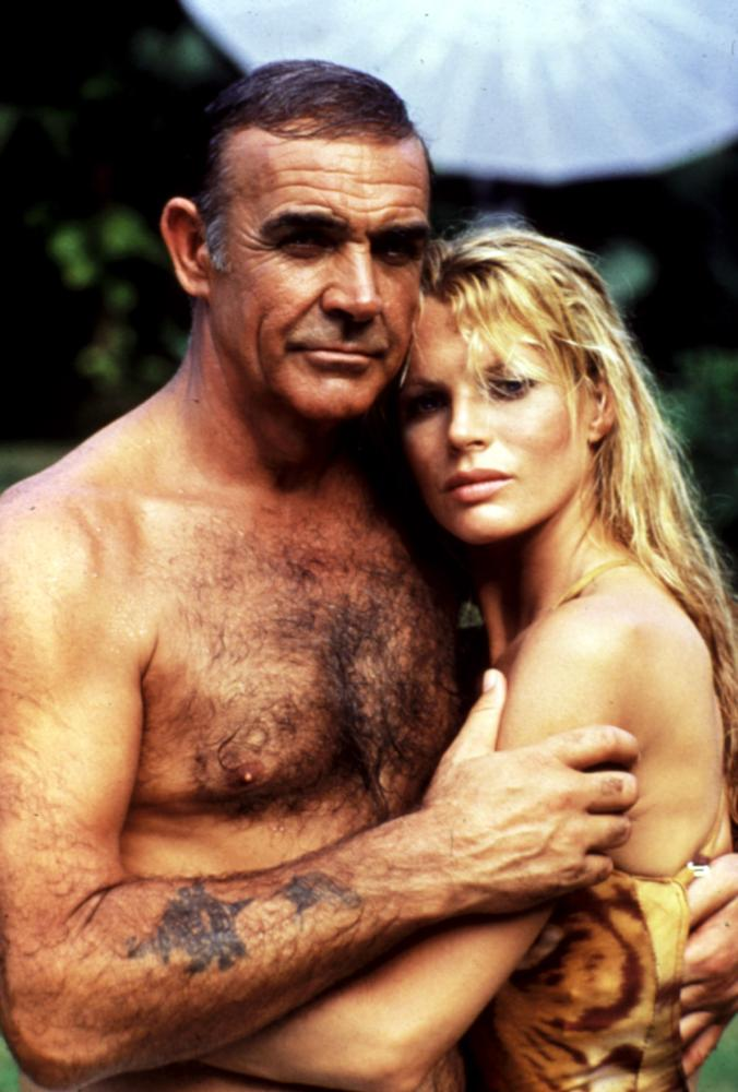 Never say never again for Sean connery tattoos