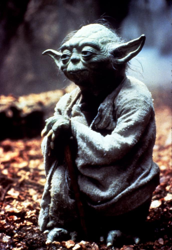 THE EMPIRE STRIKES BACK, Yoda, 1980, Lucasfilms /