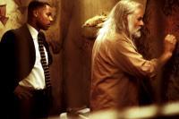 INSTINCT, Cuba Gooding Jr., Anthony Hopkins, 1999, prison