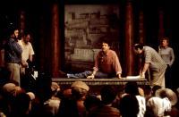 SHAKESPEARE IN LOVE, John Madden (center), 1998, stage