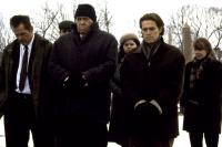 AFFLICTION, Nick Nolte, James Coburn, Willem Dafoe, Sissy Spacek, 1998, funeral