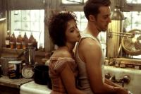 FIGHT CLUB, Helena Bonham Carter, Edward Norton, 1999 TM & Copyright (c) 20th Century Fox Film Corp. All rights reserved.
