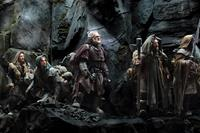 THE HOBBIT: AN UNEXPECTED JOURNEY, l-r: Dean O'Gorman, Aidan Turner, Mark Hadlow, Jed Brophy, William Kircher, 2012, ph: Mark Pokorny/©Warner Bros. Pictures