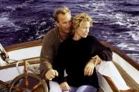 MESSAGE IN A BOTTLE, Kevin Costner, Robin Wright, 1999, boat