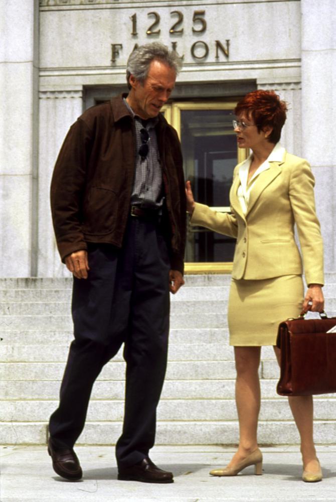 TRUE CRIME, Clint Eastwood, Frances Fisher, 1999