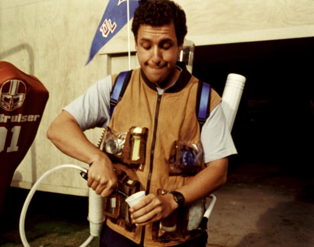 THE WATERBOY, Adam Sandler, 1998. (c) Buena Vista Pictures.