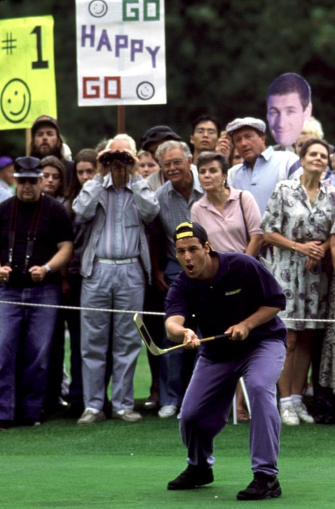 HAPPY GILMORE, Adam Sandler, 1996, golfer