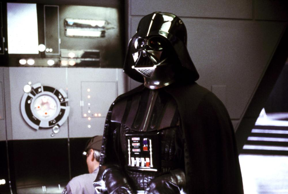 THE EMPIRE STRIKES BACK, Dave Prowse as Darth Vader, 1980. ©Lucasfilm Ltd. /