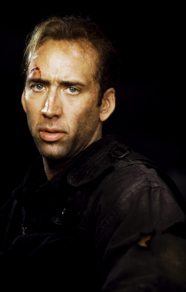 THE ROCK, Nicolas Cage, 1996, (c)Buena Vista Pictures