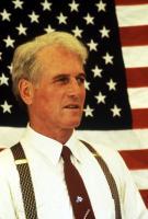 BLAZE, Paul Newman, 1989, flag