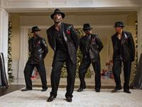 THE BEST MAN HOLIDAY, from left: Taye Diggs, Morris Chestnut, Harold Perrineau, Terrence Howard, 2013. ph: Michael Gibson/©Universal Pictures