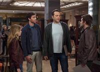 DELIVERY MAN, from left: Britt Robertson, Amos VanderPoel, Vince Vaughn, Jack Reynor, 2013. ph: Jessica Miglio/©Walt Disney Studios Motion Pictures