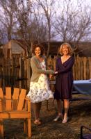 HOME FRIES, Drew Barrymore, Catherine O'Hara, 1998, holding hands