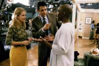 HOLY MAN, Kelly Preston, Jeff Goldblum, Eddie Murphy, 1998, television station