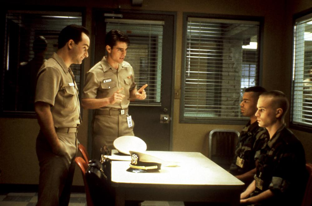 A FEW GOOD MEN, Kevin Pollak, Tom Cruise, Wolfgang Bodison, James Marshall, 1992, (c) Columbia
