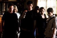 THE FACULTY, Josh Hartnett, Jordana Brewster, Clea Duvall, Elijah Wood, 1998. (c) Dimension Films.