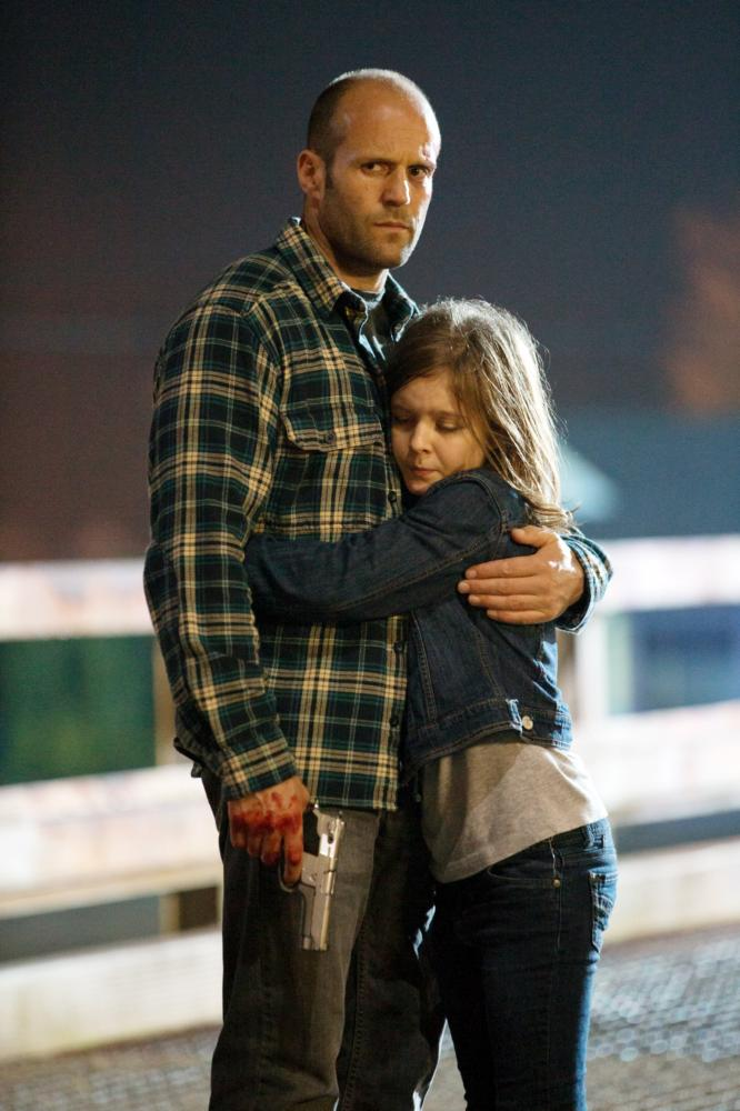 HOMEFRONT, from left: Jason Statham, Izabela Vidovic, 2013. ph: Justin Lubin/©Open Road Films