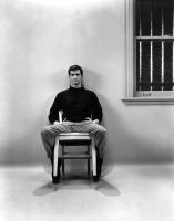 PSYCHO, Anthony Perkins, 1960, prisoner in a chair