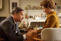 SAVING MR. BANKS, from left: Tom Hanks, as Walt Disney, Emma Thompson, 2013. ph: Francois Duhamel/©Walt Disney Studios Motion Pictures