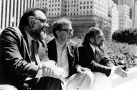 NEW YORK STORIES, Francis Ford Coppola, Woody Allen, Martin Scorsese, 1989, directors in Central Park