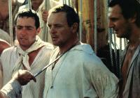 BOUNTY, THE, John Sessions, Anthony Hopkins, Liam Neeson, 1984.