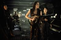 ALIEN: RESURRECTION, Ron Perlman, Sigourney Weaver, Winona Ryder, 1997, alien hunting