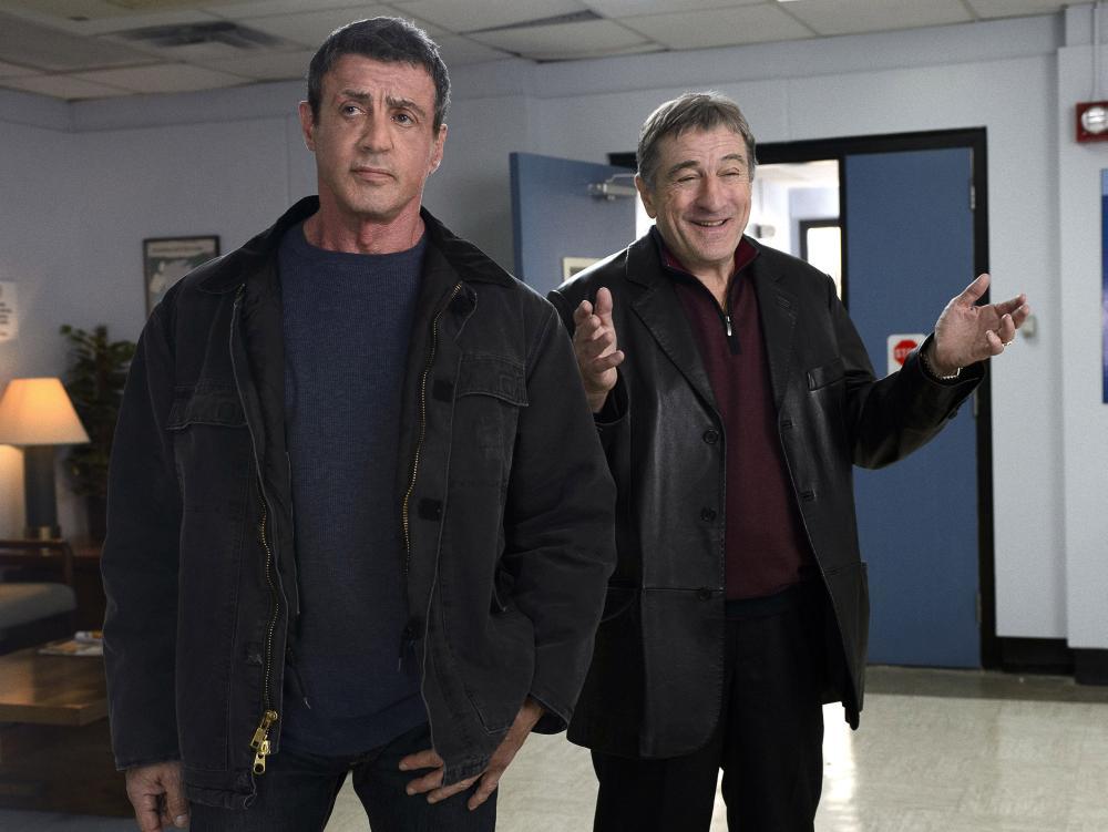 GRUDGE MATCH, from left: Sylvester Stallone, Robert De Niro, 2013. ph: Ben Rothstein/©Warner Bros.