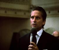 WALL STREET, Michael Douglas, 1987.  TM and Copyright (c) 20th Century Fox Film Corp. All rights reserved.