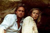 JEWEL OF THE NILE, Michael Douglas, Kathleen Turner, 1985