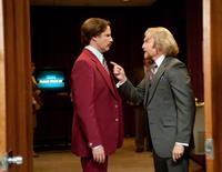 ANCHORMAN 2: THE LEGEND CONTINUES, from left: Will Ferrell, Josh Lawson, 2013. ph: Gemma LaMana/©Paramount Pictures