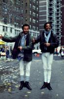 RUNNING SCARED, Billy Crystal, Gregory Hines, 1986