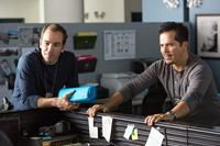 RIDE ALONG, from left: Bryan Callen, John Leguizamo, 2014. ph: Quantrell D. Colbert/©Universal Pictures