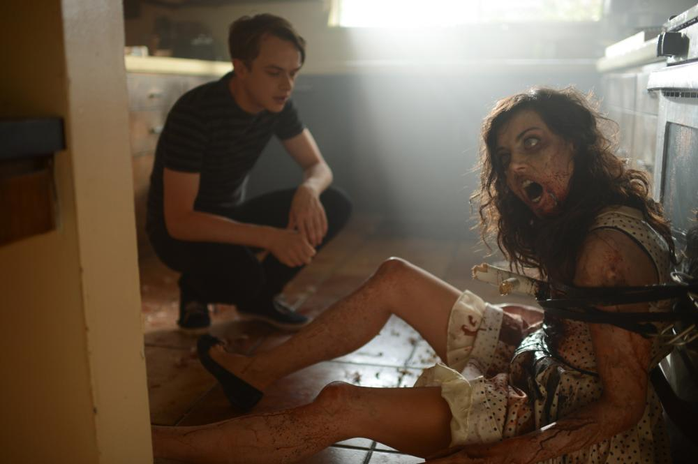 LIFE AFTER BETH, l-r: Dane DeHaan, Aubrey Plaza, 2014, ph: Gregory Smith