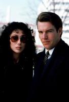 SUSPECT, Cher, Dennis Quaid, 1987