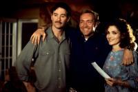 CONSENTING ADULTS, Kevin Kline, Kevin Spacey, Mary Elizabeth Mastrantonio, 1992, Spacey has arms around their shoulders