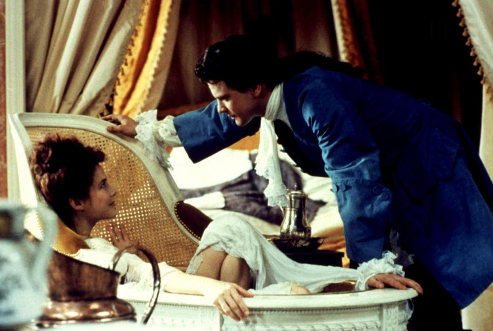 VALMONT, Annette Bening, Coling Firth, 1989