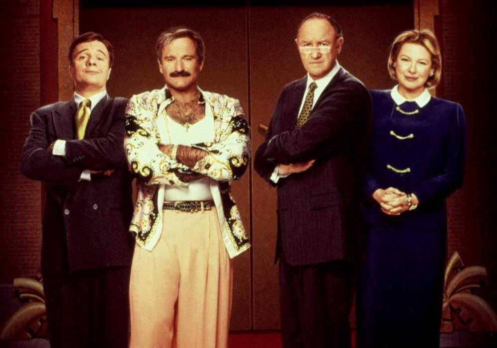 THE BIRDCAGE, Nathan Lane, Robin Williams, Gene Hackman, Dianne Wiest, 1996