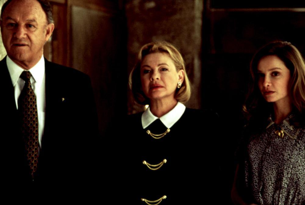 THE BIRDCAGE, Gene Hackman, Dianne Wiest, Calista Flockhart, 1996