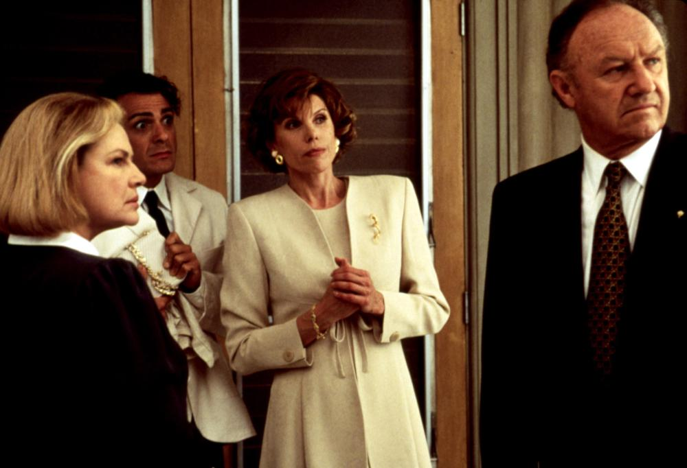 THE BIRDCAGE, Dianne Wiest, Hank Azaria, Christine Baranski, Gene Hackman, 1996