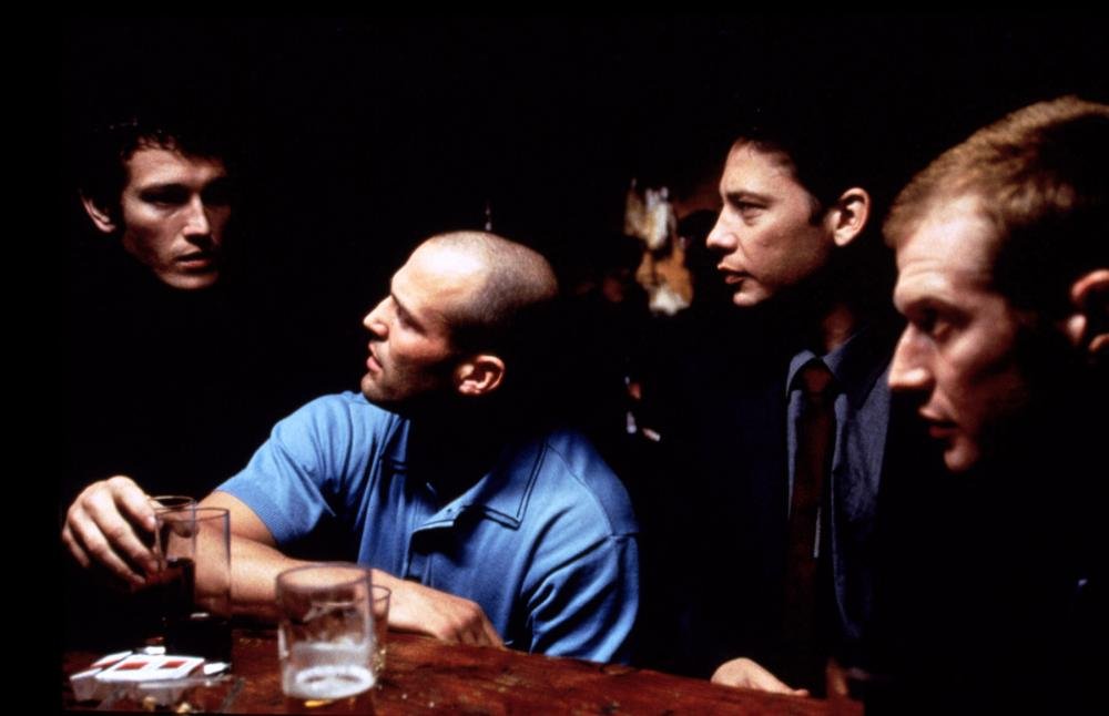 LOCK STOCK AND TWO SMOKING BARRELS, Nick Moran, Jason Statham, Dexter Fletcher, Jason Flemyng, 1998, (c) Gramercy Pictures