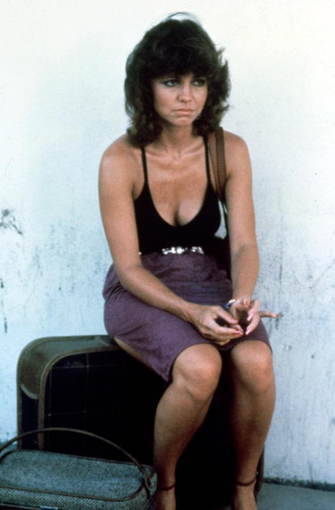 Back Roads Sally Field 1981 Sitting On Luggage