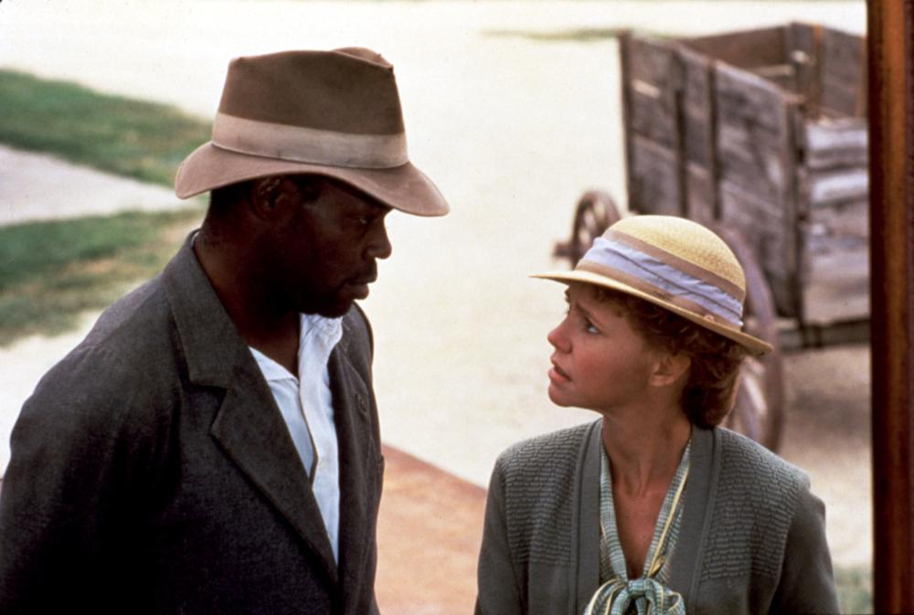 PLACES IN THE HEART, Danny Glover, Sally Field, 1984