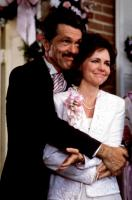 STEEL MAGNOLIAS, Tom Skerritt, Sally Field, 1989, parents of the bride