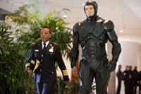 ROBOCOP, from left: Marianne Jean-Baptiste, Joel Kinnaman, 2014. ph: Kerry Hayes/©Columbia Pictures