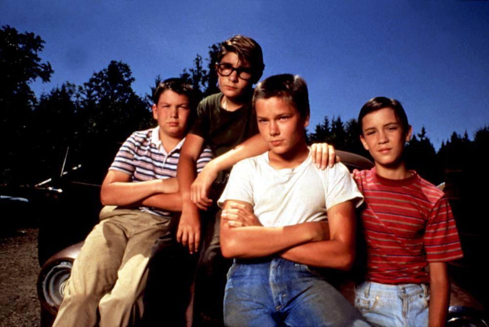 STAND BY ME, Jerry O'Connell, Corey Feldman, River Phoenix, Wil Wheaton, 1986